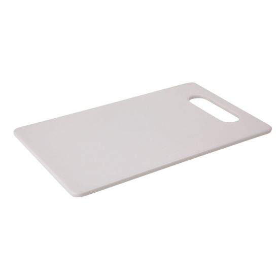 Beaumont Chopping Board – White 250mm X 150mm BEA 3694
