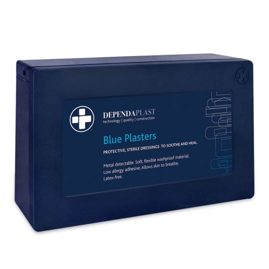 Beaumont Blue Detectable Plaster – Assorted Sizes Food Hygiene – PK120 BEA 3704