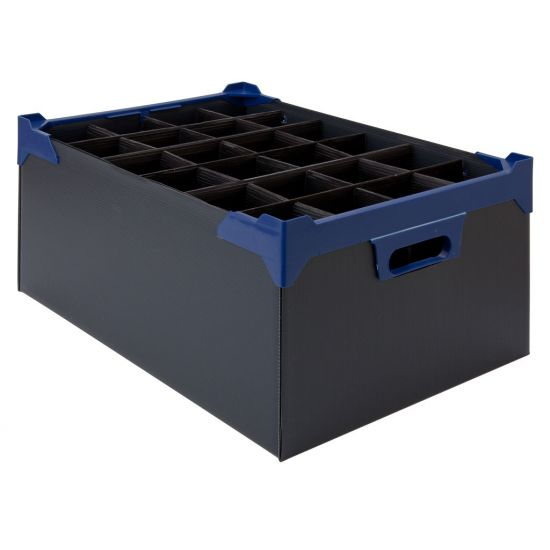 Beaumont Glass Carry Case 24 Glasses 200mm – Case QTY 5 BEA 3902