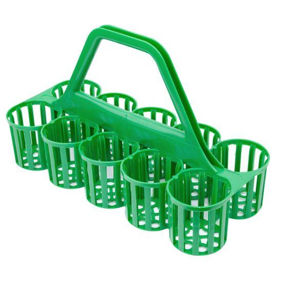 Beaumont Glass Carrier – Green BEA 3910G