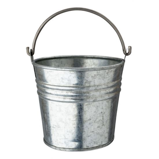 Beaumont Galvanised Serving Bucket BEA 3956