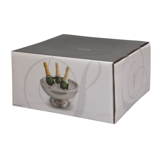 Beaumont Bellagio Wine/Champagne Cooler Hammered Finish BEA 9030