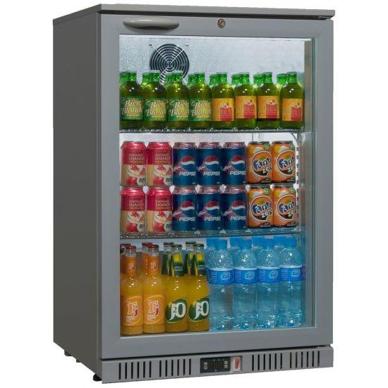 Sterling Pro Silver Single Door Bottle Cooler BLU SP1BC-GR