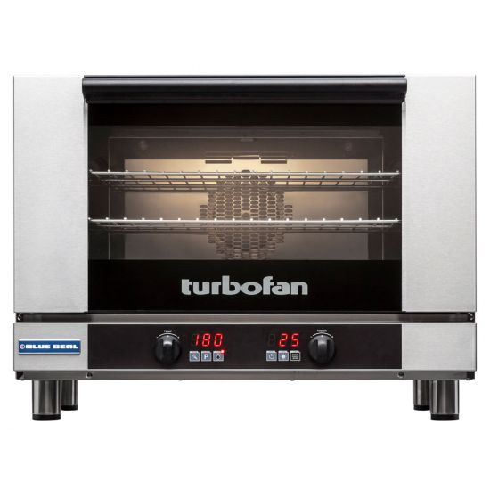 Turbofan Electric Counter-Top Convection Oven With 3 Wire Shelves BLS E27D3