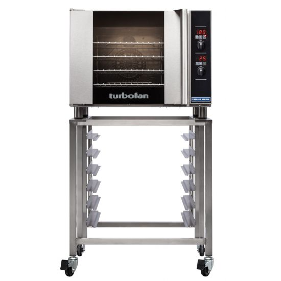 Turbofan Electric Counter-Top Convection Oven 4 1-1 GN Tray Capacity - Thermostat Control BLS E31D4