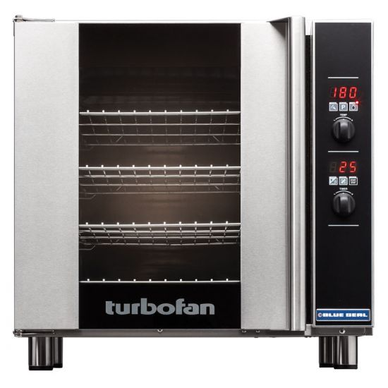 Turbofan Electric Counter-Top Convection Oven 4 Tray Capacity - Digital Control BLS E32D4