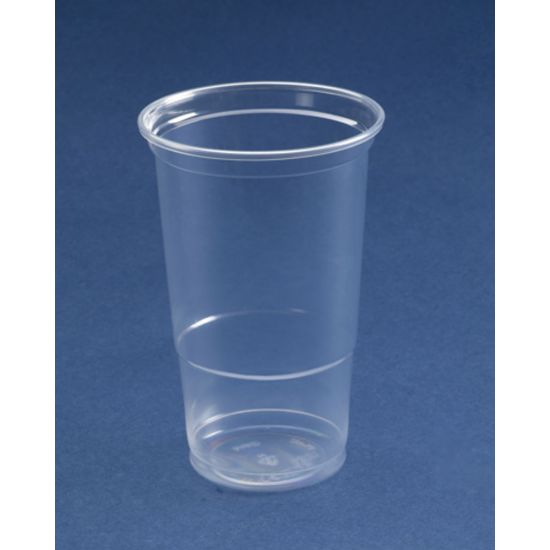 Disposable Pint To Line Plastic Glasses Ce Marked - Pack Of 50 BP1016