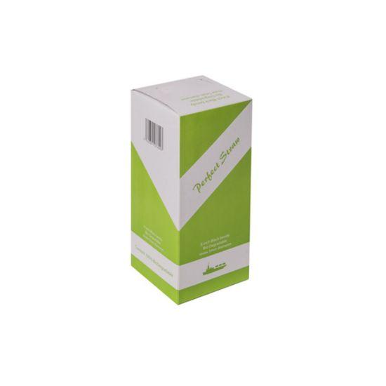 Biodegradable 8 Inch Black Bendy Straw 5mm Bore - Box Of 250 BP3046