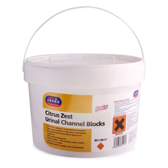 Fusion Channel Blocks - Yellow - 3.25kg Tub CL1010