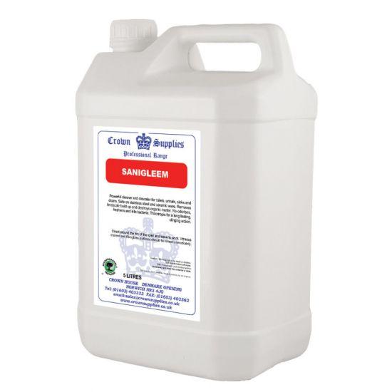 Sanigleem Concentrated Washroom Cleaner 5lt CL1015