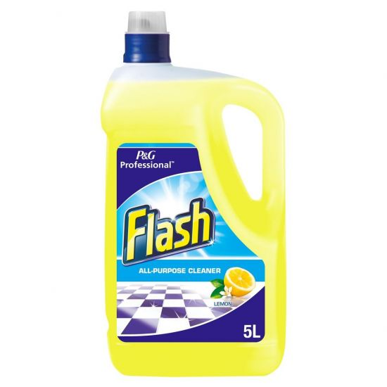 Flash All-Purpose Multi Surface Cleaner Lemon 5lt CL1022
