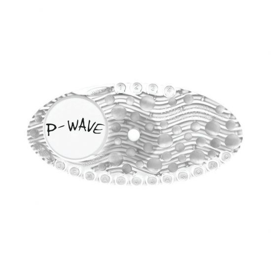 P-Wave Mango Scented Stick-on Air Freshener P-Curve Clear CL1118