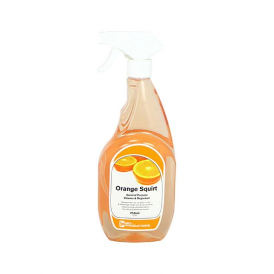 Orange Squirt Cleaner & Degreaser Ready To Use Trigger Bottle 750ml CL2024