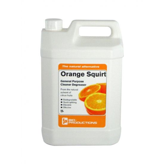 Orange Squirt Cleaner & Degraser Concentrate 5lt CL2025