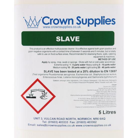 Slave Sanitiser Cleaner & Degreaser Concentrate 5lt CL2032