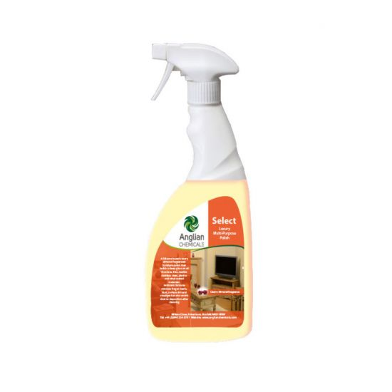 Select Liquid Furniture Polish Ready To Use Trigger Spray 750ml CL3012
