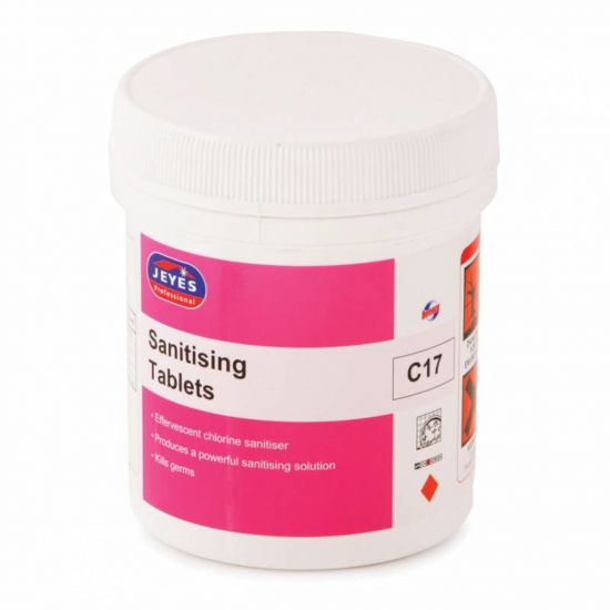 Sanitising Sterichlor Tablets - Tub Of 180 CL6008