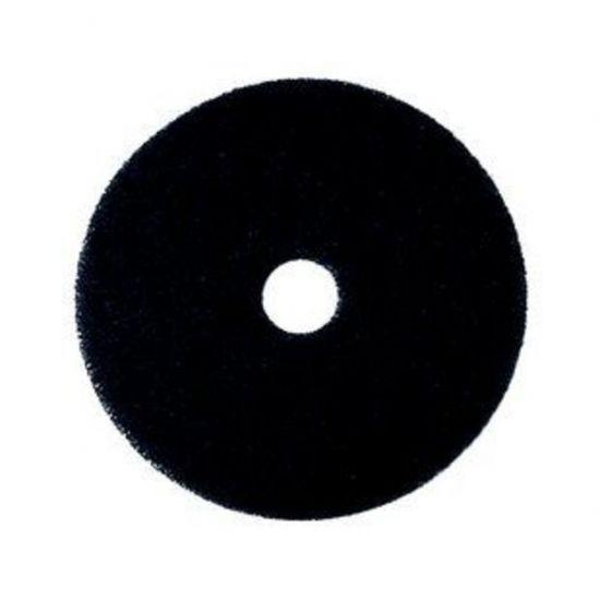 12 Inch Floor Maintenance Black Stripping Pad FLO2983