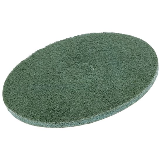 13 Inch Floor Maintenance Green Light Stripping Pad FLO2991