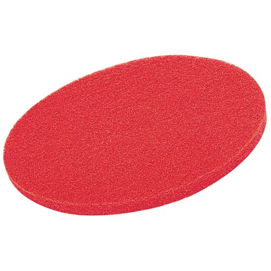 13 Inch Floor Maintenance Red Light Clean / Buffing Pad FLO2994
