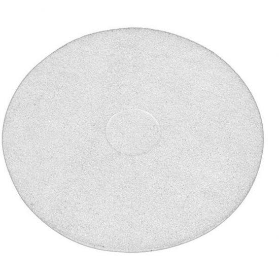 17 Inch Floor Maintenance White Polishing Pad FLO3018