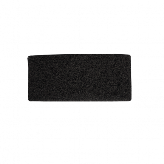 Black Tough Heavy Duty Floor Scouring Pad - 25.4 X 11.5cm FLO3028