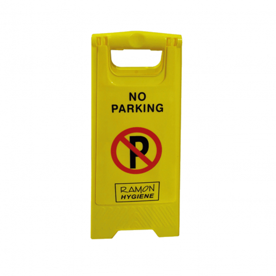 No Parking Warning 'A' Frame Sign FLO5022