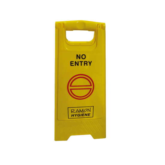 No Entry Warning 'A' Frame Sign FLO5023