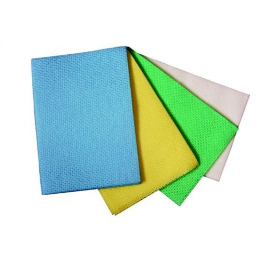 Green Anti-Bacterial Multi-Purpose Absorbent Cloths - Pack Of 25 GW5011
