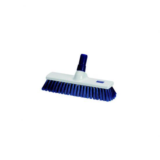 Blue 40cm Medium Bristle Brush / Broom Head Heavy Duty JE1026