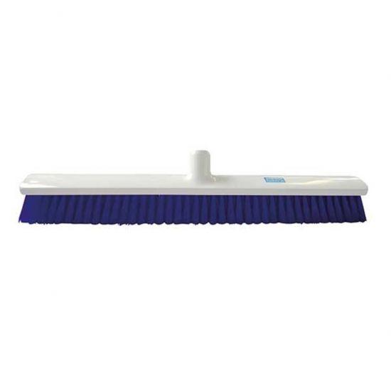 Blue 60cm Hygiene Broom – Combi Bristle Soft / Medium Heavy Duty JE1029B