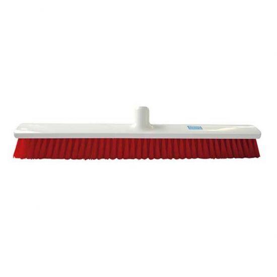 Yellow 40cm Medium Bristle Brush / Broom Head Heavy Duty JE1029