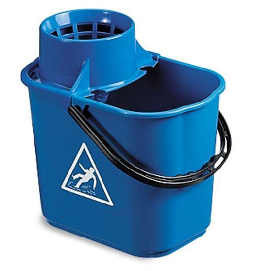 Professional Blue Mop Bucket & Wringer 12lt JE2001