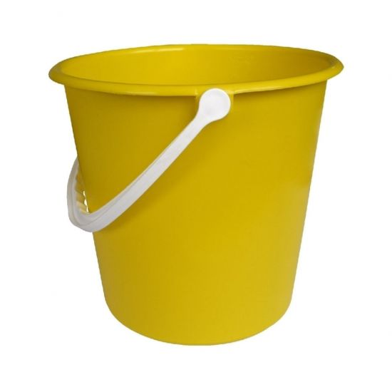 Yellow Standard Round Bucket 9lt JE2018