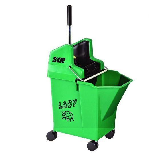 Professional Green Ladybug Kentucky Mop System 15lt JE2041