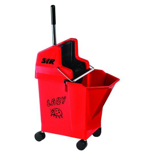 Professional Red Ladybug Kentucky Mop System 15lt JE2042