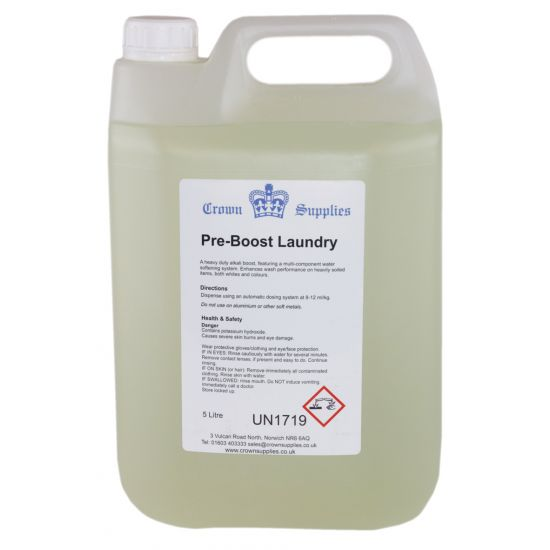 Pre-Boost Stain Remover Liquid 5lt LAU3006