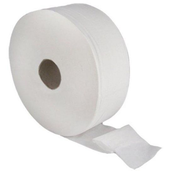 Jumbo Toilet Roll 300m 2ply White - Pack Of 6 PAP1010