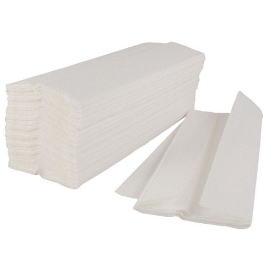 C-Fold Paper Hand Towels 2ply White - Box Of 2400 PAP1028