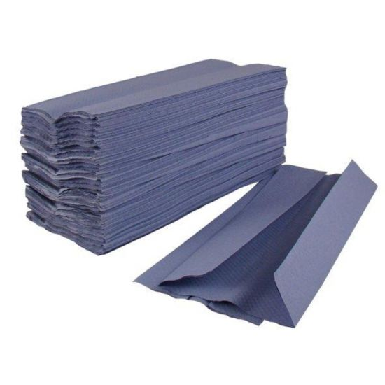 C-Fold Paper Hand Towels 1ply Blue - Box Of 2880 PAP1030