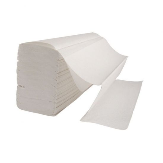 Interfold Paper Hand Towels 2ply White - Box Of 3150 PAP1032