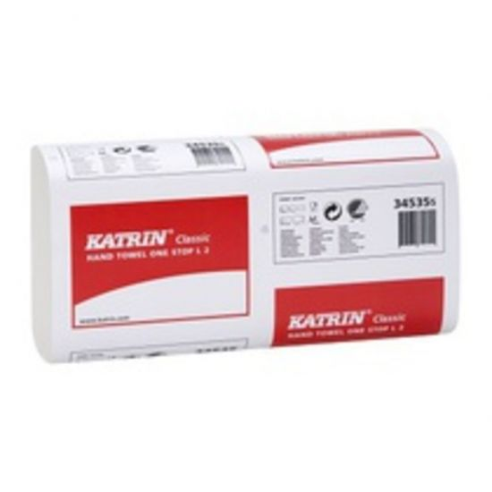 Katrin Interfold Paper Hand Towels 2ply White - Box Of 2310 PAP1033