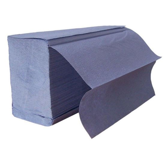 Z-Fold Paper Hand Towels 1ply Blue - Box Of 3000 PAP1039