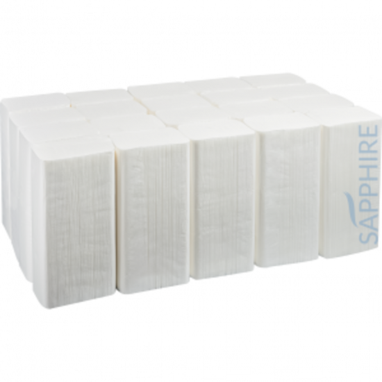 Z-Fold Paper Hand Towels 2ply White - Box Of 3000 PAP1063