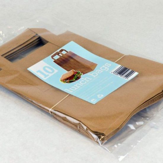 Recycled Brown Paper Carrier Bags Medium - Pack Of 250 PAP6051