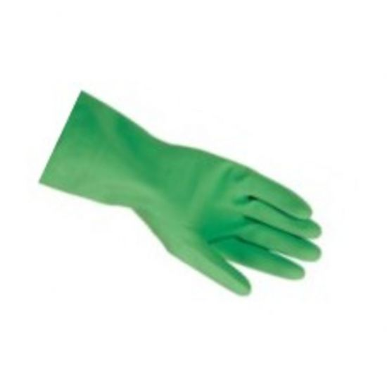 Professional Green Household Rubber Gloves X Large - Pair PP1024
