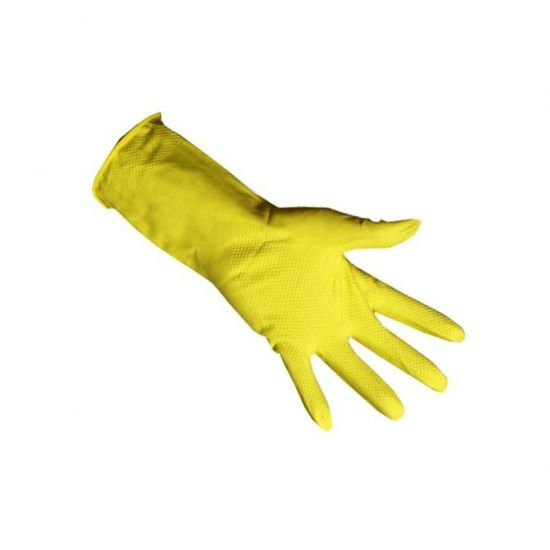 Professional Yellow Household Rubber Gloves X Large - Pair PP1032