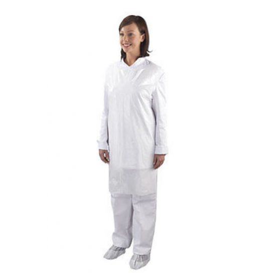 Light Duty White Flat Pack Aprons - Pack Of 100 PP2015