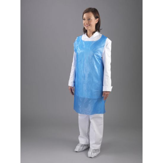 Light Duty Blue Aprons On A Roll - Roll Of 200 PP2018
