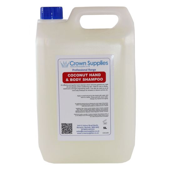 Coconut Hand & Body Shampoo 5L Pack of 1 SC1009